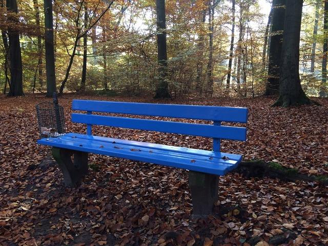 Bank autumn break, nature landscapes.