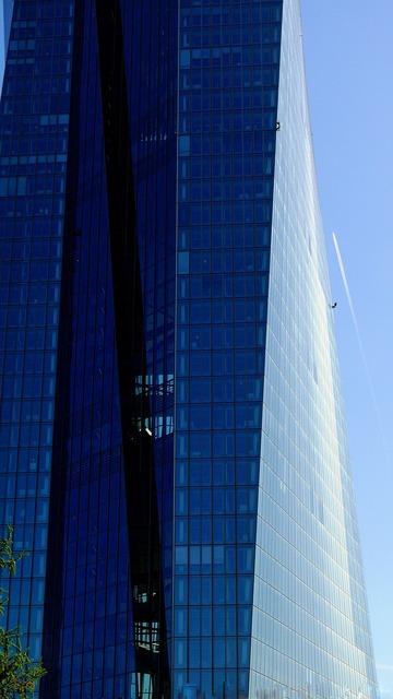 Bank ecb euro, business finance.