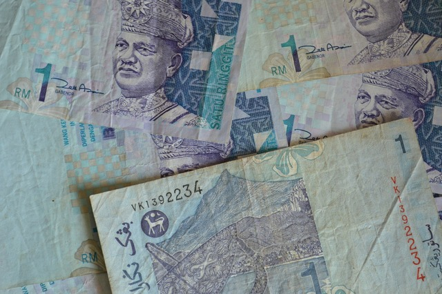 Banknotes malaysia bills, business finance.