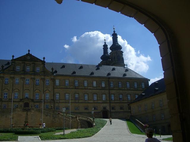 Banz abbey mainfranken former benedictine monastery.