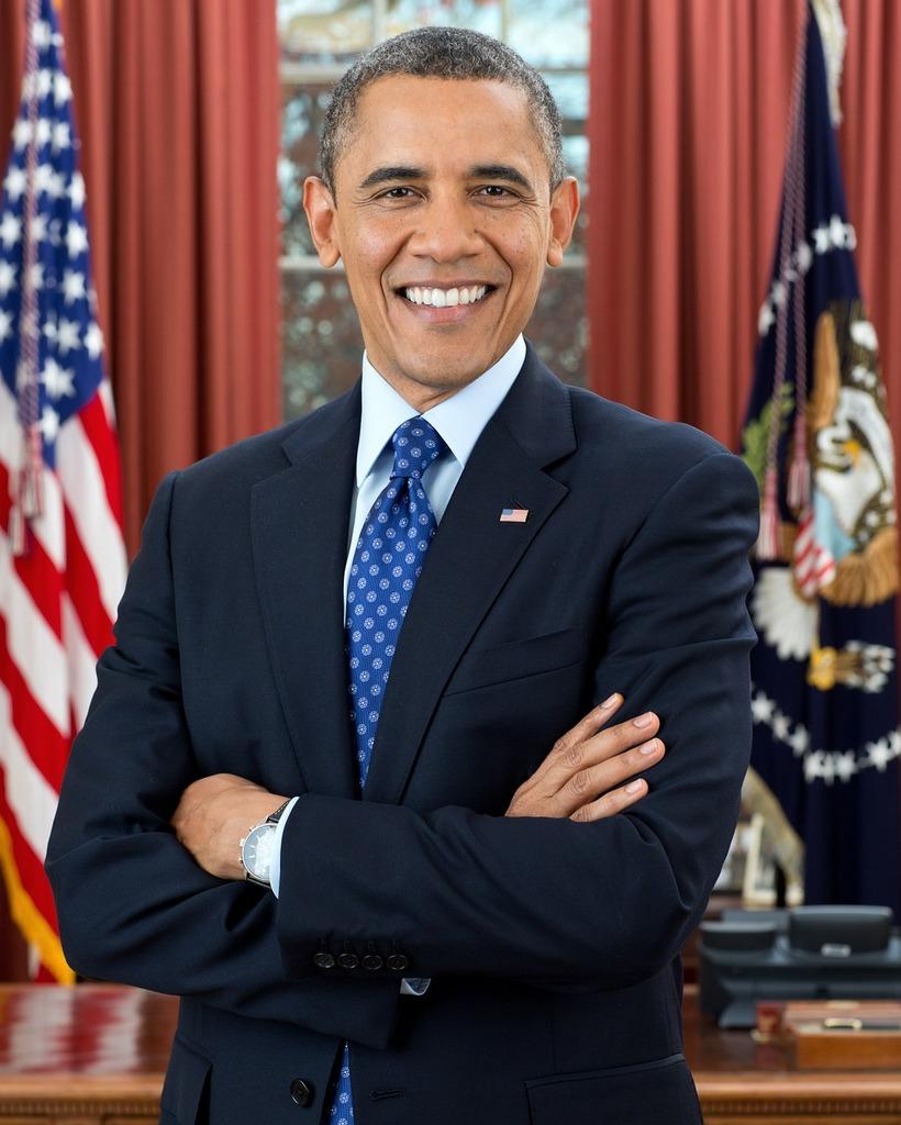 Barack obama 2012 official portrait, people.