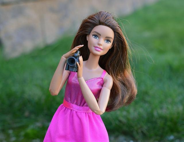 Barbie doll camera.