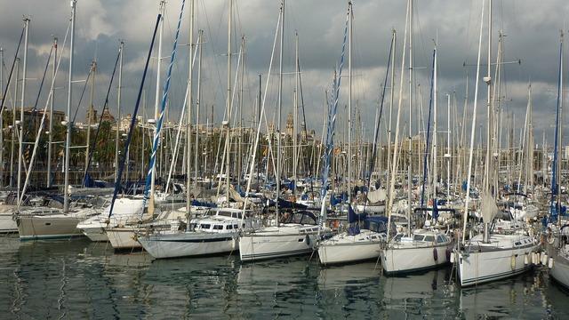 Barcelona marina catalonia.