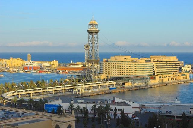 Barcelona port port watching.