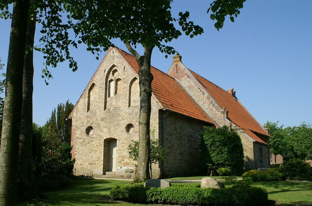 Bargum church nordfriesland, religion.