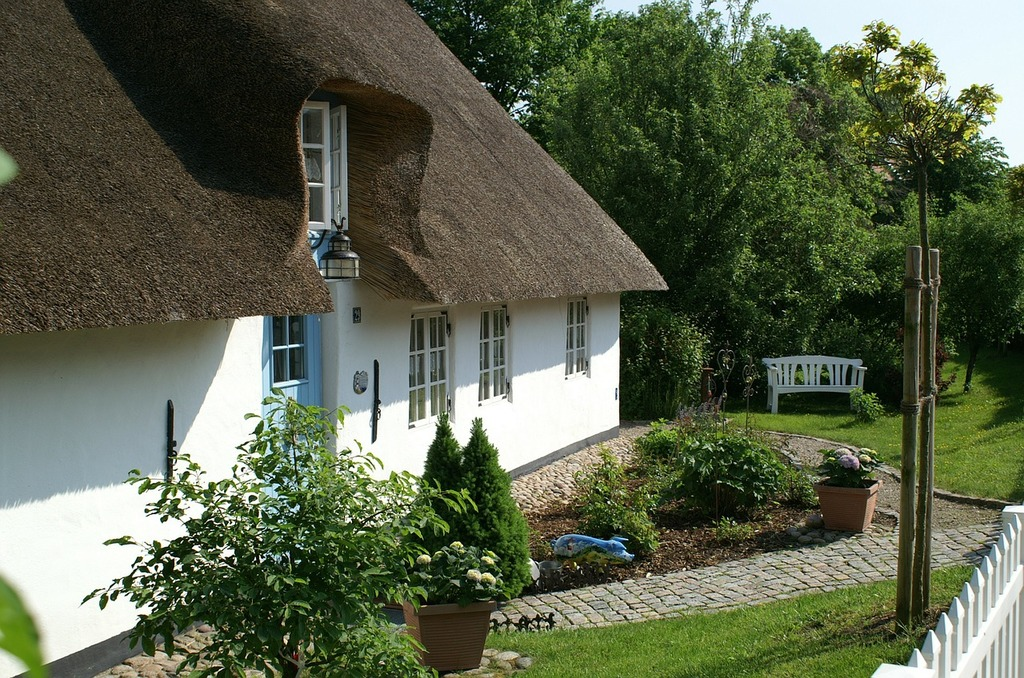 Bargum thatched roof nordfriesland.