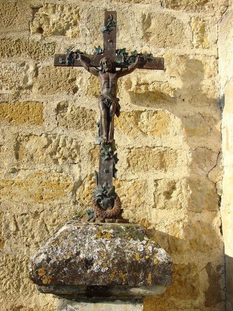 Barran france wayside cross, religion.
