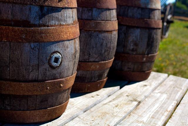 Barrel barrels middle ages.