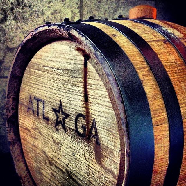 Barrel beer craft, industry craft.