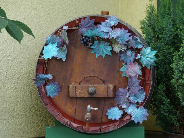 Barrel wine barrel wine.