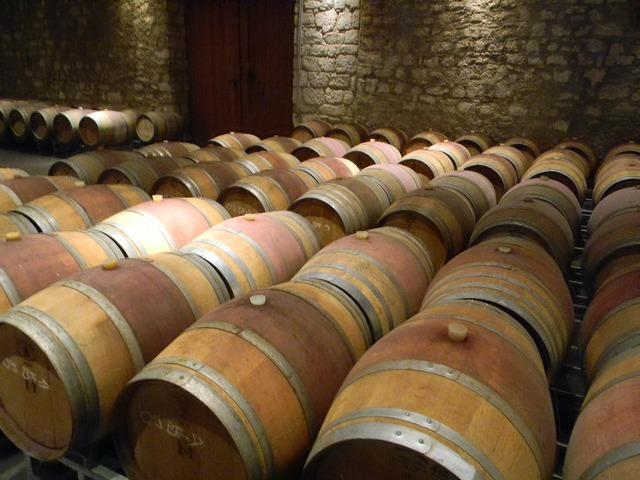 Barrel wine barrel winery.