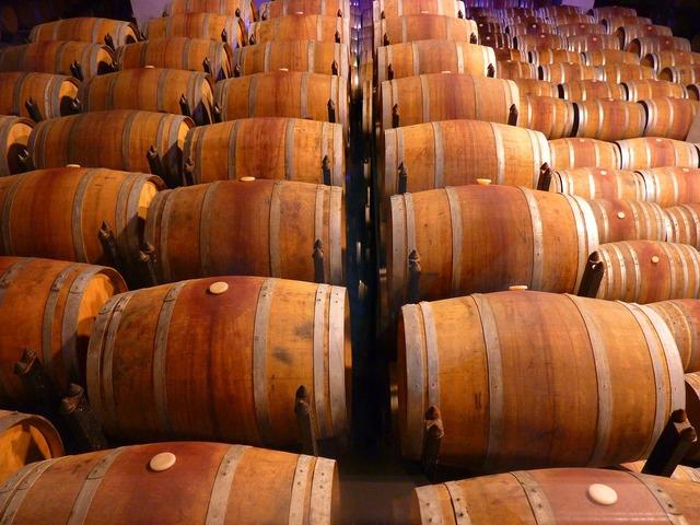 Barrel wine wine barrels, food drink.