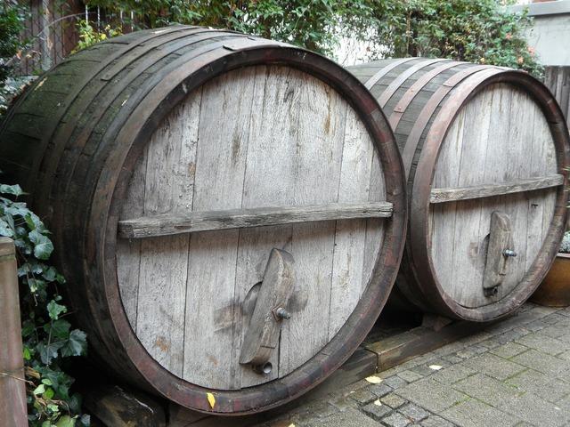 Barrels wine barrels barrel.