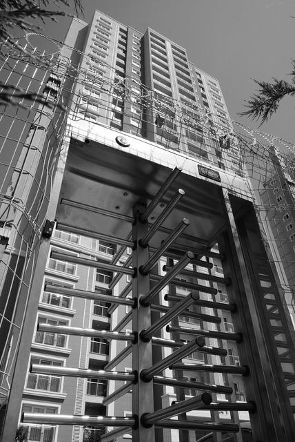Başakşehir metrokent security, architecture buildings.