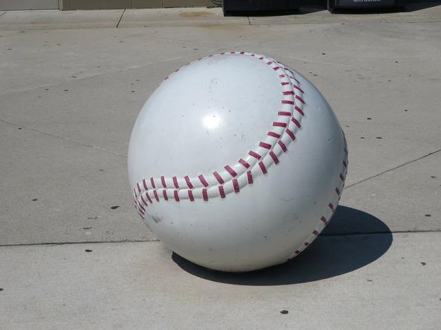 Baseball ball softball, sports.