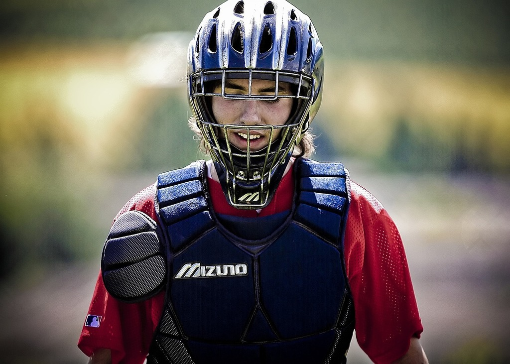 Baseball catcher catchers mask, sports.