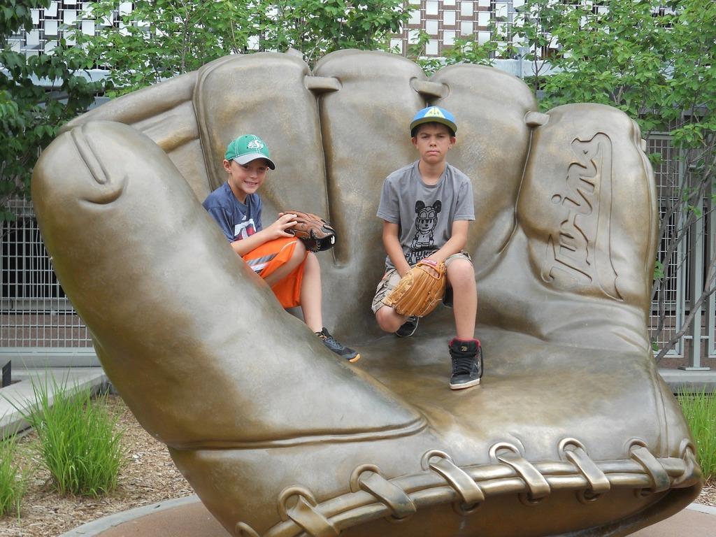 Baseball glove kids, sports.