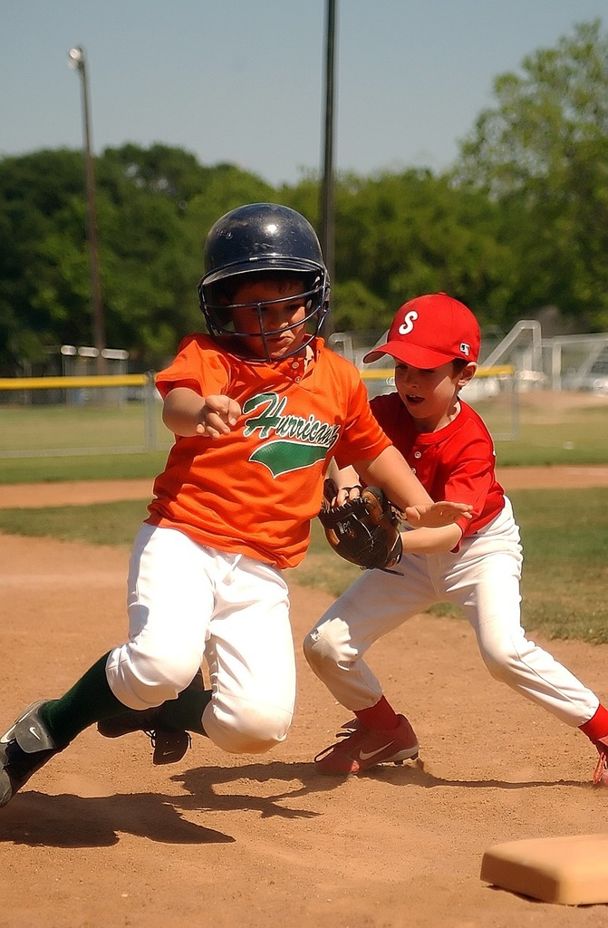 Baseball little league player, sports.