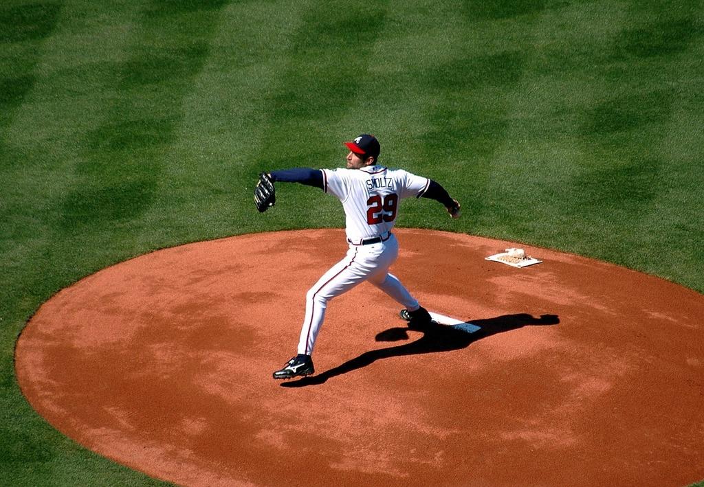 Baseball pitcher major league, sports.