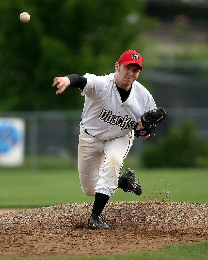 Baseball pitcher player, sports.