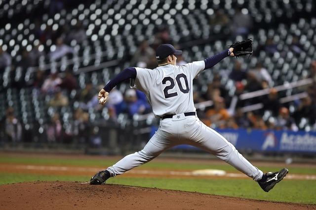 Baseball pitcher stretch, sports.