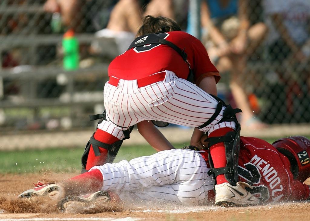 Baseball player catcher, sports.