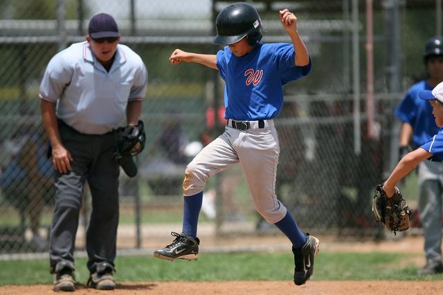 Baseball player runner, sports.
