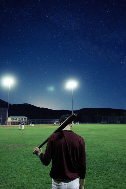 Baseball player stadium, sports.