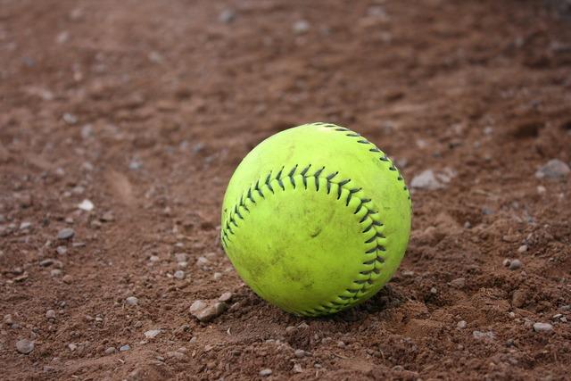 Baseball softball clay, sports.