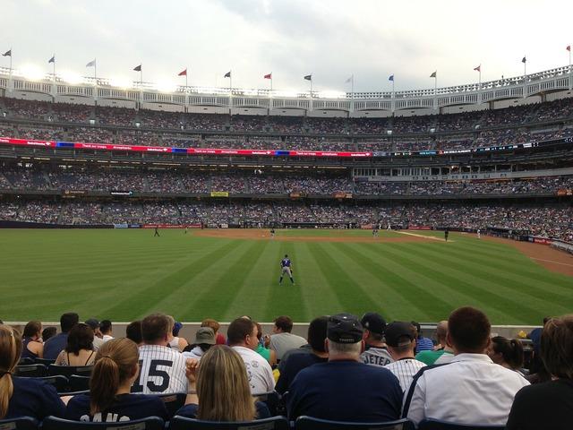 Baseball yankees yankee stadium, sports.