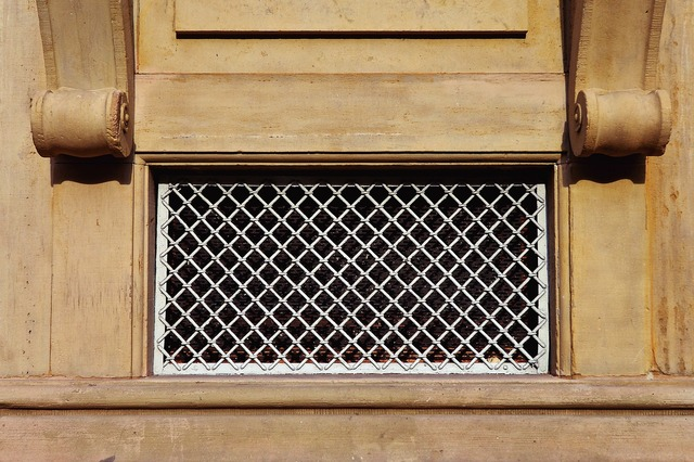Basement basement bars lattice window, architecture buildings.