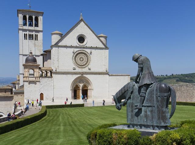 Basil san francesco d'assisi assisi, religion.