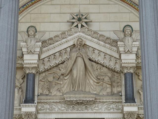 Basilica church architecture, religion.