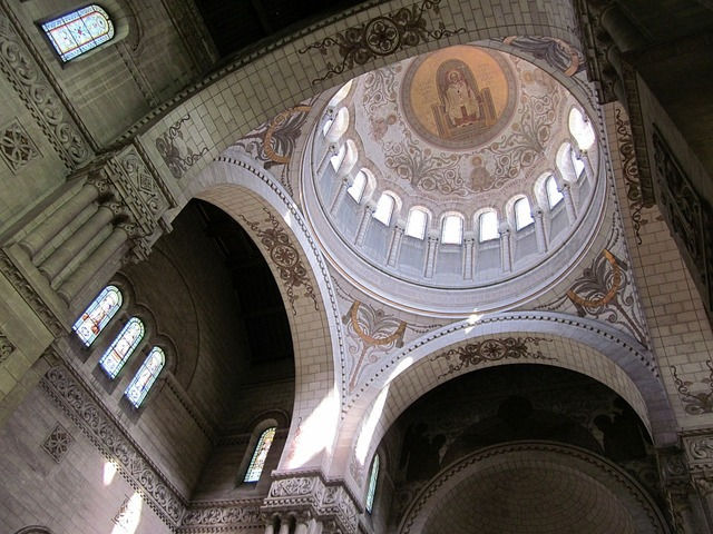 Basilica of st martin neo-byzantine dome, religion.