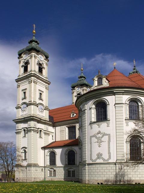 Basilica ottobeuren church, religion.
