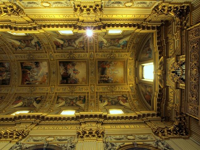 Basilica sant andrea della valle rome.