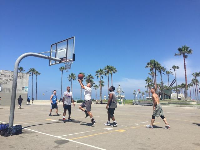 Basketball venice california, sports.