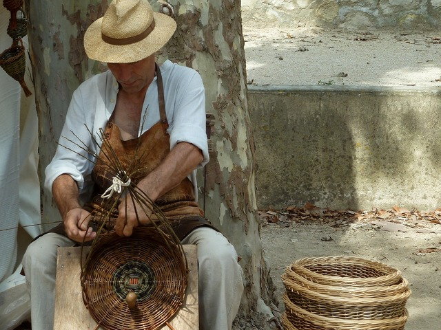 Basketry vannier wicker.