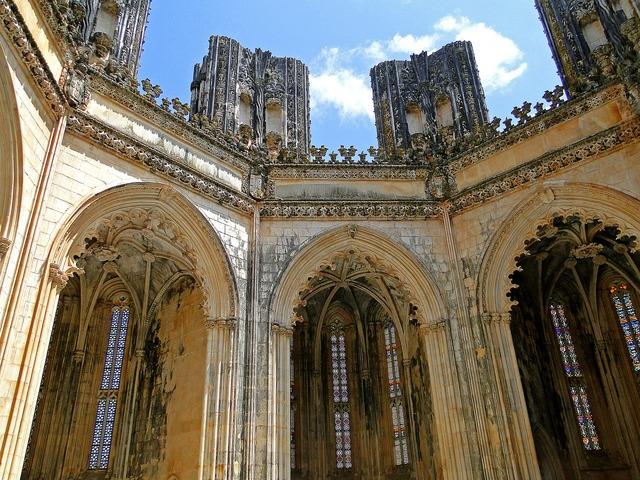 Batalha monastery monastery of st, architecture buildings.