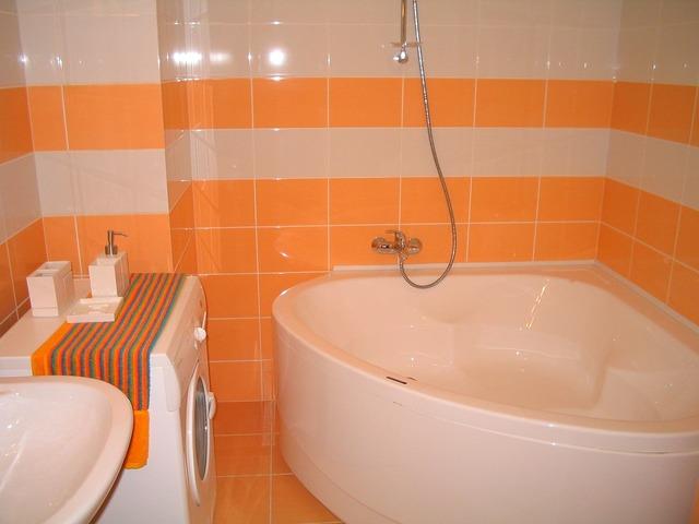 Bathroom design interior, architecture buildings.