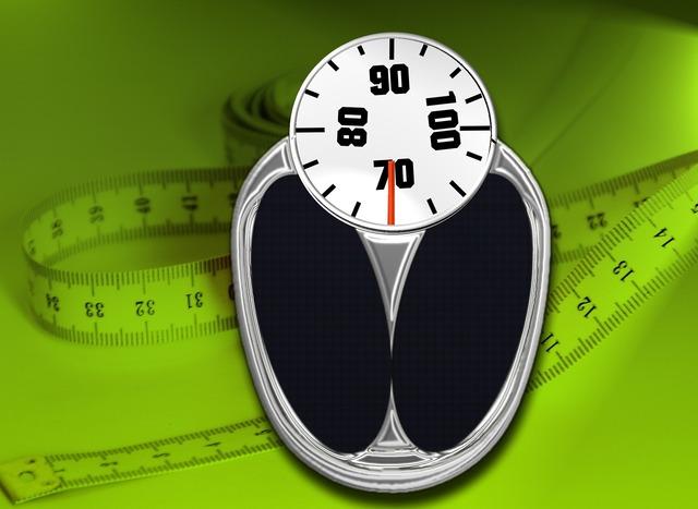 Bathroom scale horizontal weight.