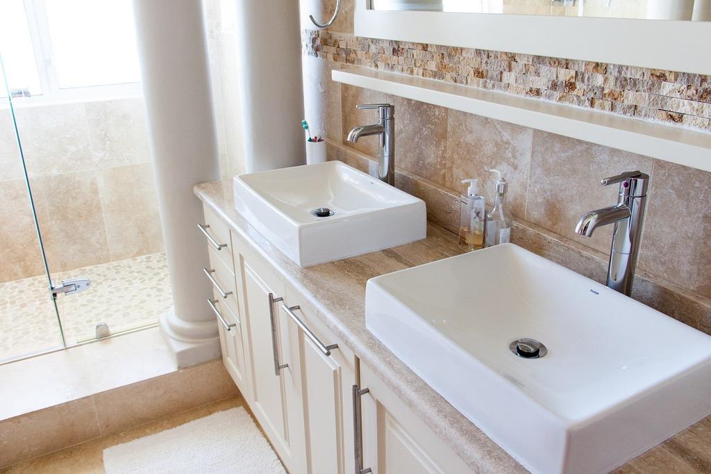 Bathroom tap hygiene.