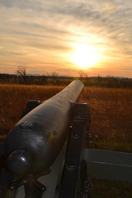 Battlefield cannon g, places monuments.