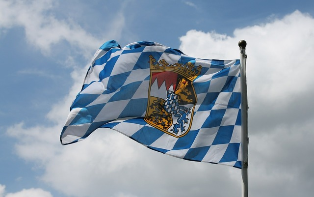 Bavaria flag swiss francs.
