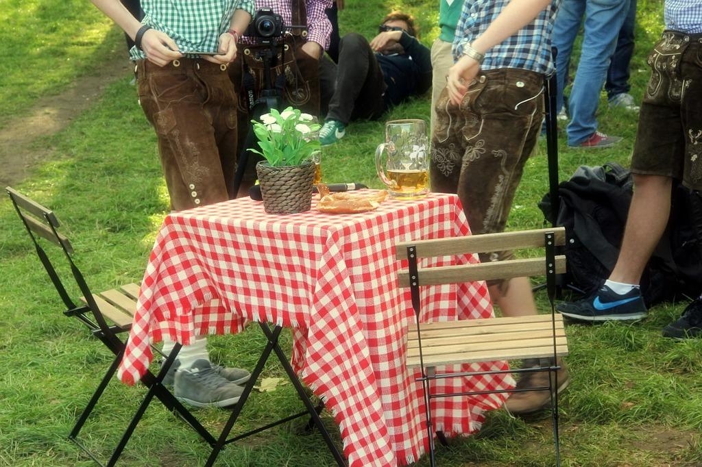 Bavaria germany beergarden, people.