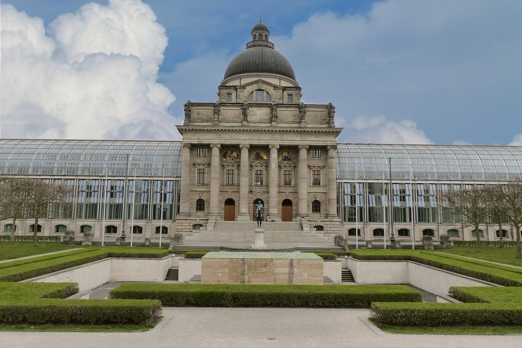 Bavarian state cancellery court bavaria, architecture buildings.
