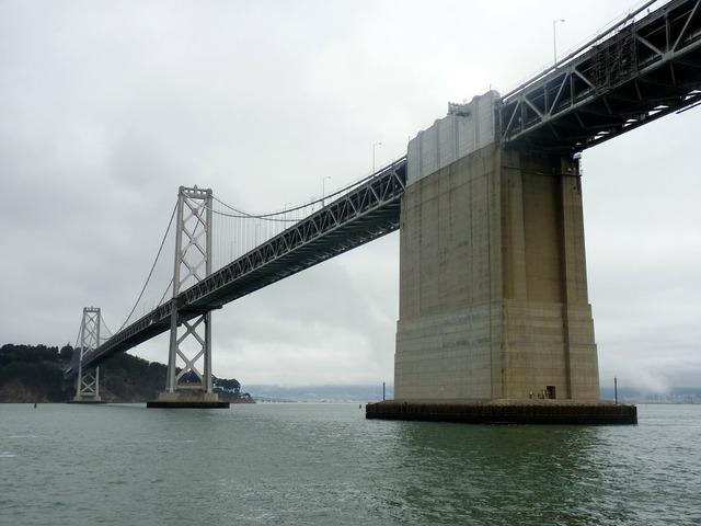 Bay bridge san francisco oakland bay bridge.