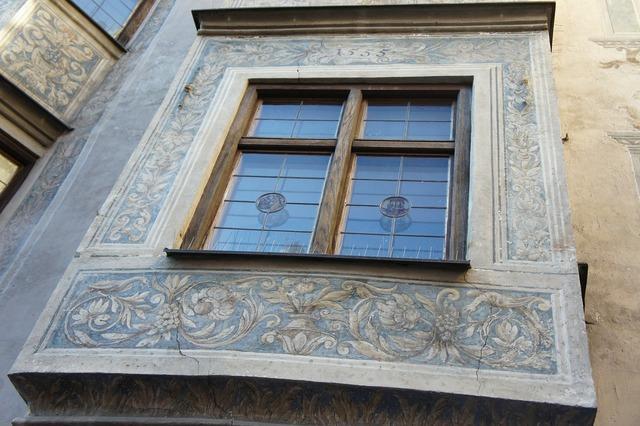 Bay window home facade, architecture buildings.