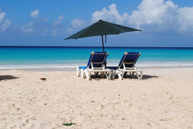 Beach barbados rockley, travel vacation.