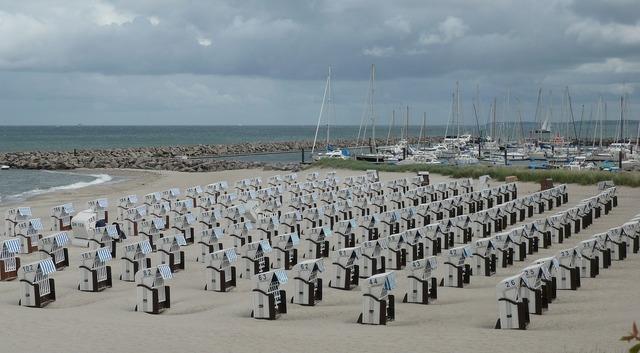 Beach clubs north sea, travel vacation.
